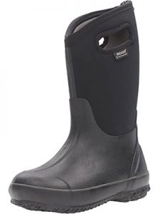 Bogs Kids Classic High Waterproof Insulated Rubber Rain and Winter Snow Boot for Boys