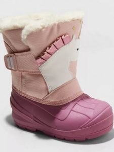 Unicorn Winter Boots from Cat & Jack at Target